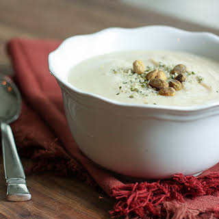 Clean Eating Cauliflower Soup.