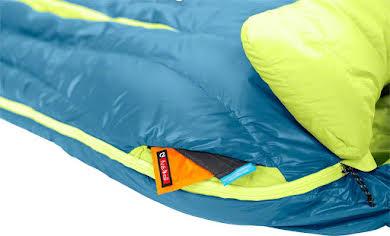 NEMO Disco 15 Sleeping Bag, 650 Fill Power Down with Nikwax: Long, Deep Sea/Key Lime alternate image 0