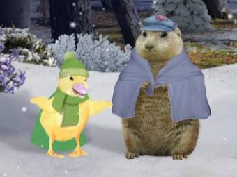 Help the Groundhog!/Help the Lion Cub!