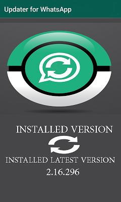 Updater for WhatsApp - screenshot