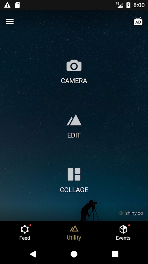 Screenshots of Fotor Photo Editor for iPhone