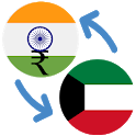 Indian rupee Kuwait dinar / INR to KWD Converter icon