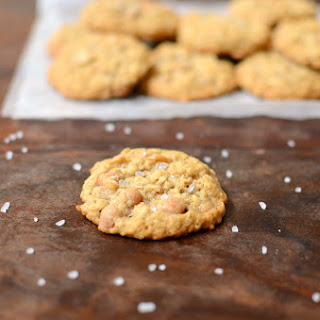 Salted Caramel Oatmeal Cookies.
