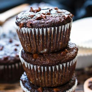 Paleo Chocolate Banana Muffins.