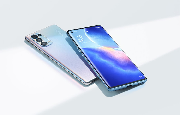 The Oppo Reno5 5G. Picture: Supplied