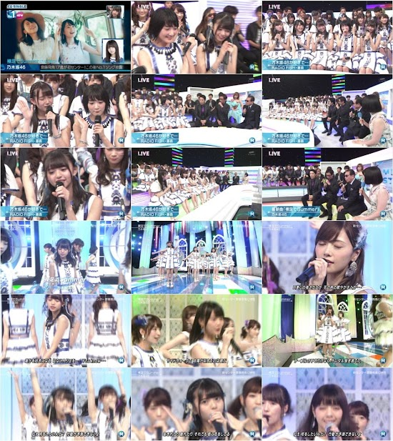 160729 Nogizaka46 (乃木坂46) Part – Music Station