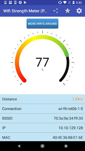 Wifi Strength Meter Pro screenshot 1