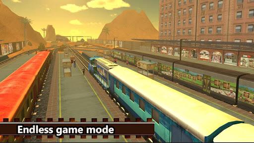 Real Indian Train Sim: Train games 2020 apkpoly screenshots 9