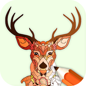 Animal Coloring Book Enchanted Forest