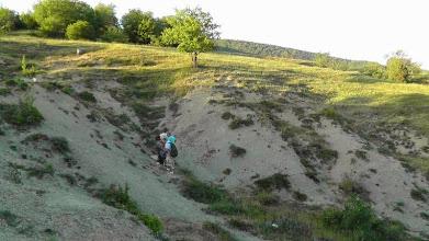Photo: Обнажение берриаса у с. Широкое (Байдарская котловина)