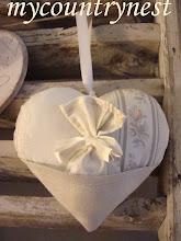 Photo: Cuore con taschina e sacchetto per confetti