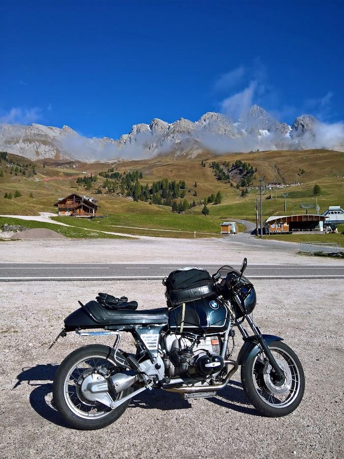 SWT-SPORTS BMW Motorrad R 100 R mit Zentralfederbein