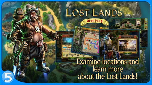 Lost Lands: Mahjong screenshot 2
