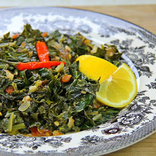 Cooking Collard Greens The Caribbean Way.