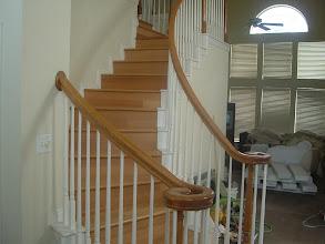 Photo: installer hardwood flooring to steps by FLOORS We DO.
