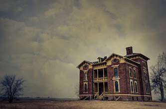 Photo: The Dead Will Be Walking Tonight  I don't know about you but I'm excited for the return of The Walking Dead tonight! My daughter and I are big fans and have a date every Sunday night to watch the show.  This was an abandoned mansion in Illinois that I shot over Christmas vacation. In the original image the sky was flat and boring so I decided to play with it in +onOne Software's Perfect Photo Suite to give the image some life... or death if you will. My goal was to create an image that could be put into the opening credits of TWD. After adding some blur, textures, and a touch of cross processing I got the feel that I was after.  #thewalkingdead  #ifdaryldiesweriot