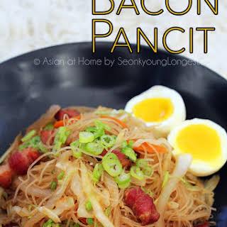 Bacon Pancit.