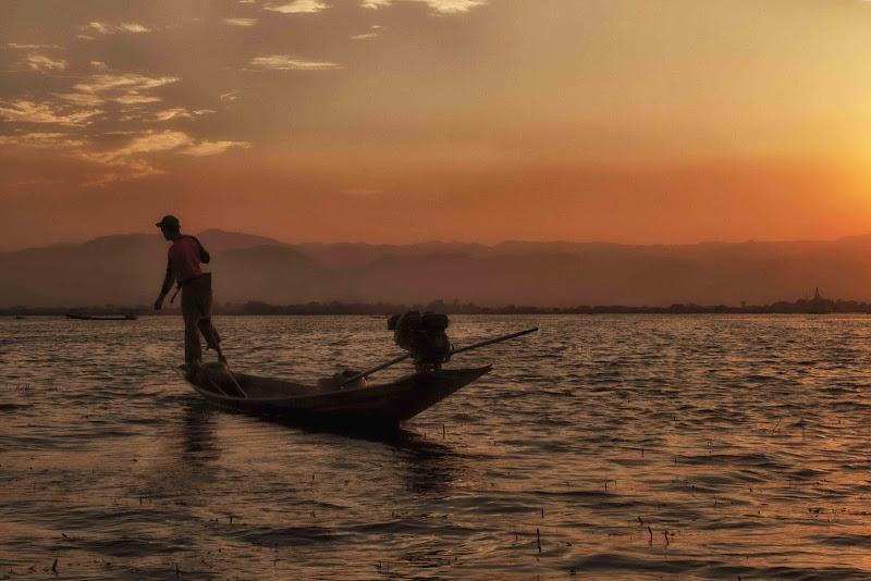 il pescatore del lago Inle di antonioromei