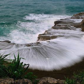 Klayar Beach  by Miya Rachmi - Landscapes Waterscapes