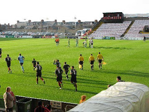 Photo: 07/08/09 v Cork City (LOIP) 1-0 - contributed by Leon Gladwell
