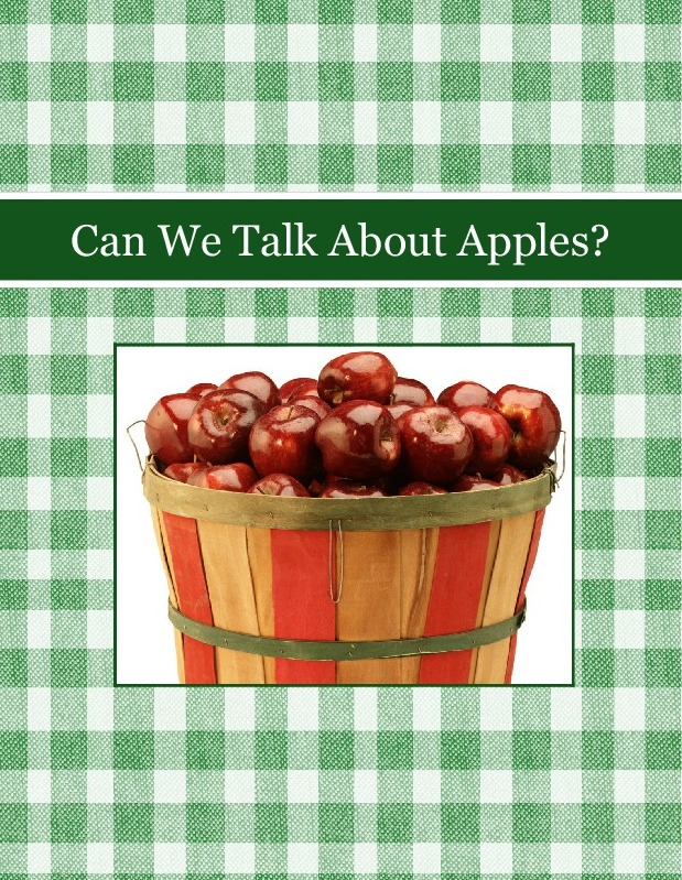 Can We Talk About Apples?