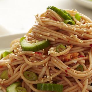 Kimchi Noodle Salad