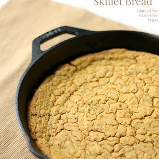 Syrian Red Lentil Skillet Bread.