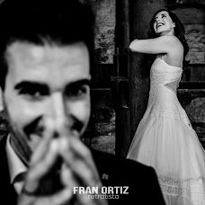 Wedding photographer Fran Ortiz (franortiz). Photo of 13.07.2018