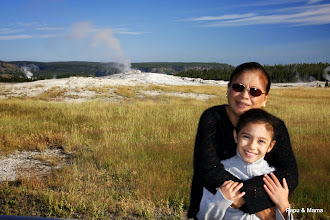 Photo: Mama and Papa, who have traveled all over the world, said Yellowstone was one of their favorites.