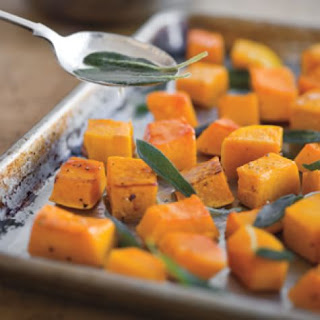Roasted Butternut Squash with Brown Butter and Sage.