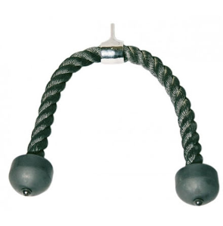 Tricepsrep svart, 70 cm