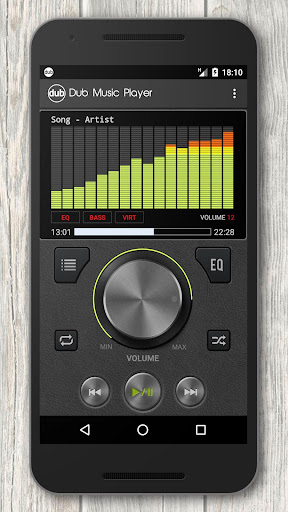 Dub Music Player + Equalizer v2.31 (Mod AdFree)