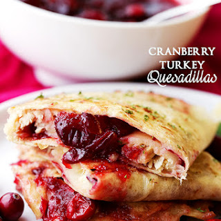 Cranberry Turkey Quesadillas