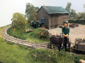 Photo: 018 Ted's yard is busy enough to keep 2 IC locos hard at work on the 7¼ inch gauge railway that serves the Lyncombe Heath Estate .