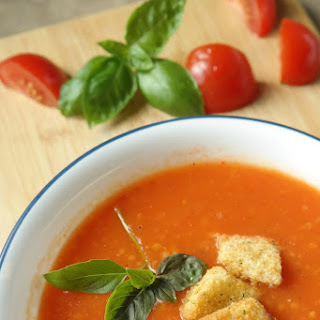 Easy and Fresh Tomato Soup.