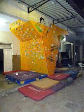 Photo: Podar College climbing wall 1.