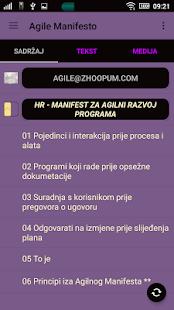Agile Manifesto - náhled