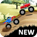 Hill Climb Monster Truck Race Icon