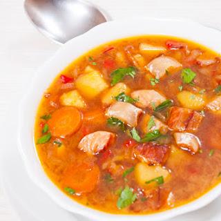 Portuguese Fish Soup In The Soup Maker.