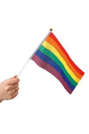 Flagga, pride liten