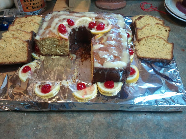Poppy Seed Lb Cake/w Crm Chse & Splenda Glaze Recipe