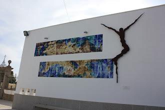 """Photo: """"Redenção"""" - Obra de Pedro Moreira (foto de José Silva)"""