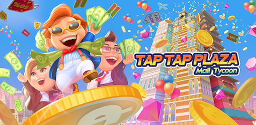 Welcome to the world of Tap Tap Plaza, a fun-shopping Mall Idle Clicker