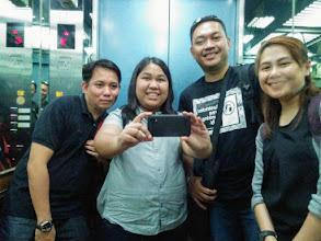 Photo: Mirror Elevator Deployment Team Picture (Ryan survived the flight!)