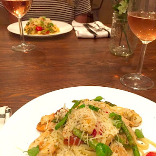Fun and Healthy Shrimp Linguine with Asparagus and Tomatoes