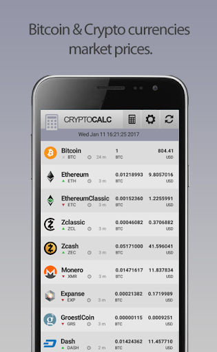 Crypto Currency & Bitcoin Calculator  screenshots 10