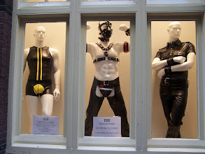 Photo: Some evening wear popular around these parts. And when I say parts, I mean Amsterdam.