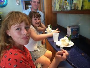 Photo: Yummy delizia, a Sorrento specialty (fluffy lemon whipped cream cake)