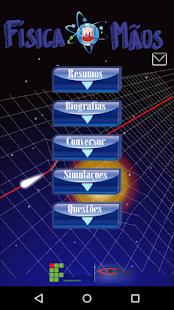 Física in mãos: miniatura da captura de tela