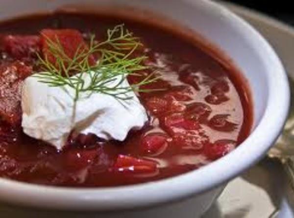 Hearty Borscht Recipe